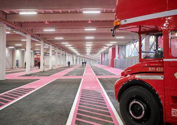 Busparkhaus Wembley Stadion, London