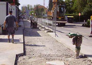 Auswechslung hydraulisch überlasteter Kanäle in Erlangen