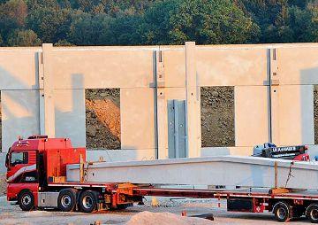 Neubau Bauhof für unsere Baufirma in Hainichen