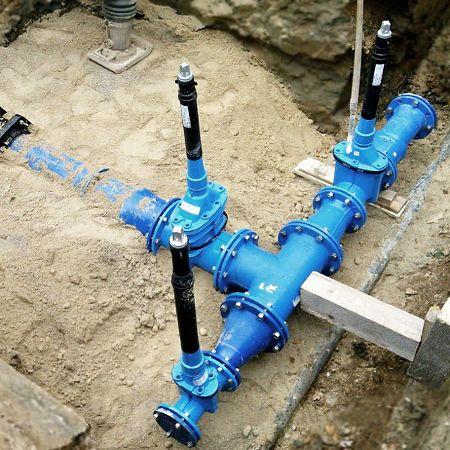 Neue Wasserleitungen, Eckental-Eckenhaid