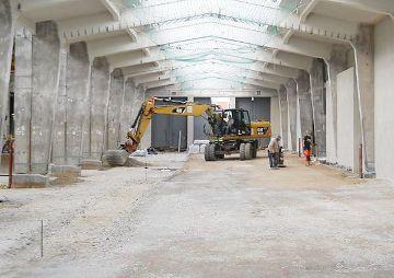 Umbau der VAG-Hallen in Nürnberg in ein Parkhaus