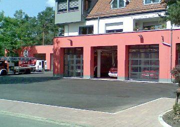Vorplatzsanierung der Feuerwehr, Feucht