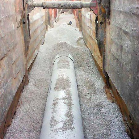 Neuer Kanal aus Glasfaserkunststoff, Hersbruck