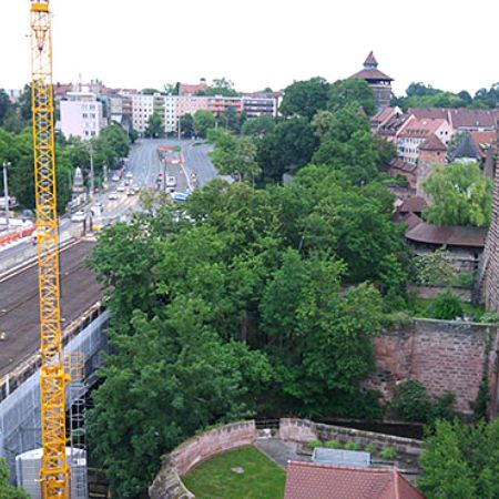 Erneuerung der Hallertorbrücke, Nürnberg