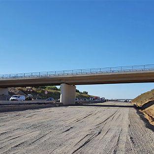 Brücke BW 3038 an der BAB A 7, AS Bockenem-Seesen