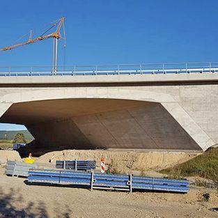 Brücke BW 3049 an der BAB A 7, AS Bockenem-Seesen
