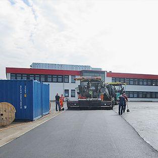 Logistikterminal für Schenker, Langenhagen