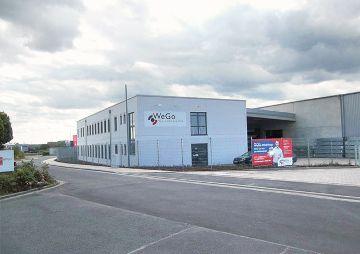 Neubau für Baustoffhändler WeGo, Erfurt