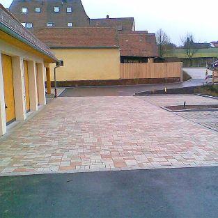 Neue Parkplätze in der Innenstadt, Heilsbronn