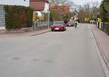 Teilsanierung der Pfinzingstraße, Feucht