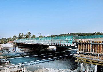 Autobahnbrücke BW 789 B über die BAB A 6, Schwabach