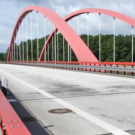 Brückenbauwerk an der BAB A 12 bei Berkenbrück