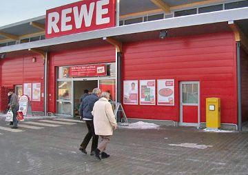 REWE-Markt mit 70 Stellplätzen