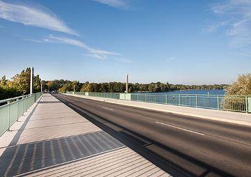 Brücke über die Havel bei Geltow, Bundesstraße 1