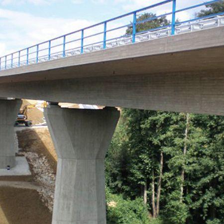 Talbrücke BW 5-1 über den Nestelgraben, B 289