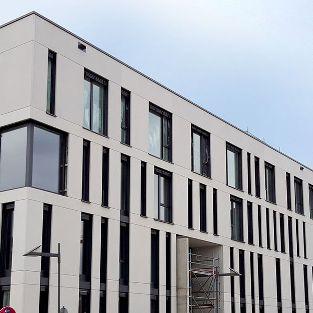 Architekturbeton Büropark Eastside, Mannheim