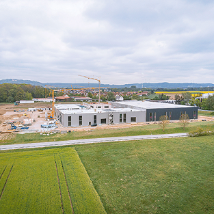 Neubau Firmensitz OM-Klebetechnik, Neumarkt