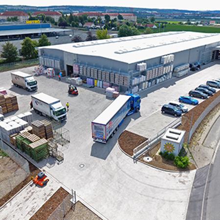 Halle und Büros für Systemhändler WeGo, Erfurt