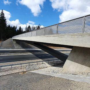 Brücken-Ersatzneubau BW 605b an der BAB A 7 bei Schondra
