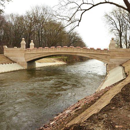Parkwegbrücke über den Bodekanal, Neugattersleben