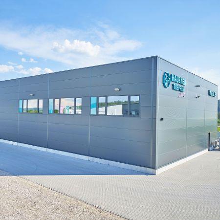Produktionshalle für Treppen Haubner WERK 3, Neumarkt