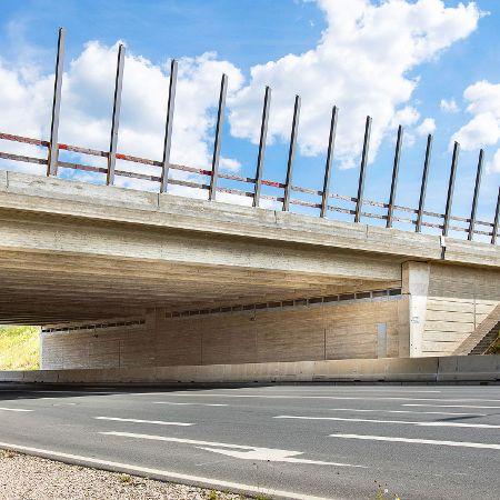 Brückenneubau des BW 779b, BAB A6 bei Schwabach