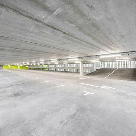 Neubau Mitarbeiter-Parkhaus, HIPP Pfaffenhofen