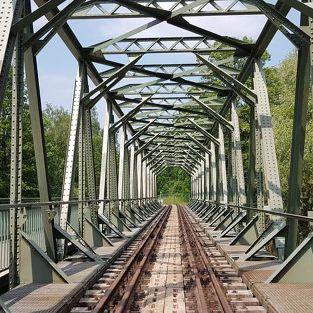 Brückensanierung des Chemnitztalradwegs, Clausnitz
