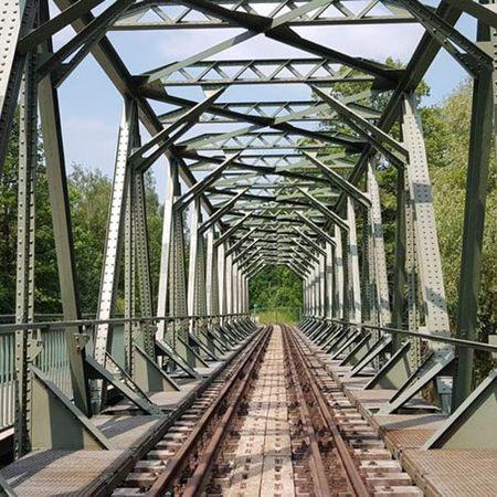 Brückensanierung des Chemnitztalradwegs, Claußnitz