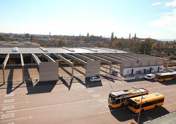 Neubau Betriebshof für die DVB, Trachenberge