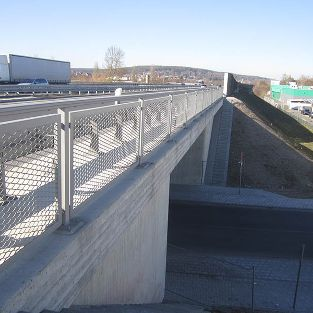 Neubau der Brücke BW 125a, BAB A73 bei Forchheim