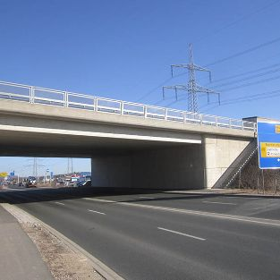 Brückenneubau BW 126b, BAB A73 bei Forchheim