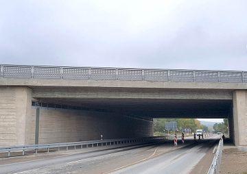 Neubau der Brücke BW 775b, BAB A6 bei AS Schwabach-West