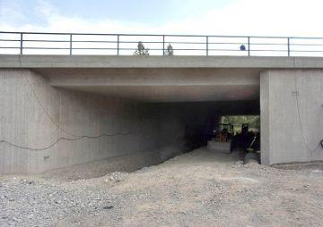 Verbreiterung der Brücke BW 1-1 über den Menzlohgraben, Schirnding