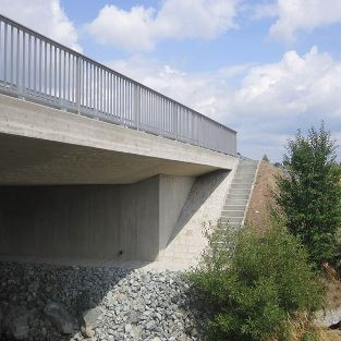Ersatzneubau der Brücke Heidennaab, Kemnath