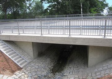 Neubau der Kuchenreuther Brücke an der B22, Kemnath