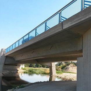 Brücke BW 1-1 über dem Ludwigskanal, B299, Ortsumgehung Mühlhausen