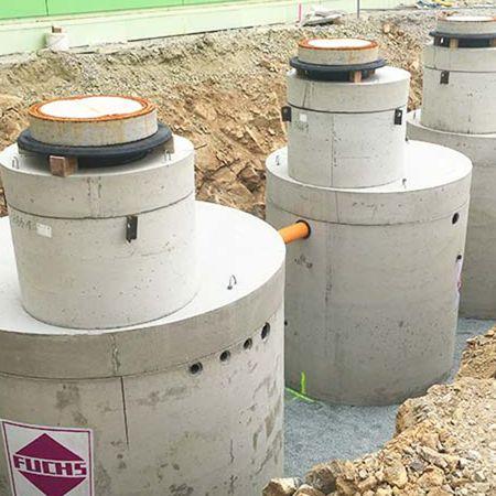 Anlage zur biologischen Wasseraufbereitung, Pommritz
