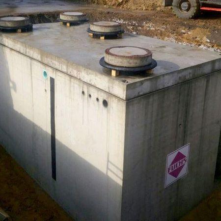 Biologische Abwasserreinigung an neuer Tankstelle, Lünen