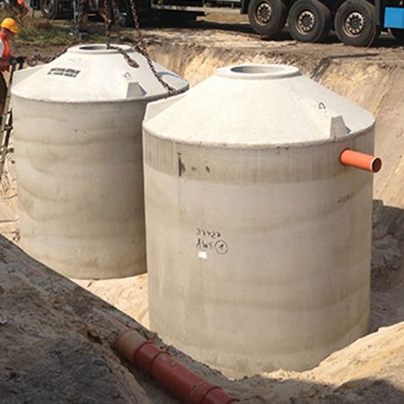 Kleinklär- und Regenwassernutzungsanlage, Spreetal