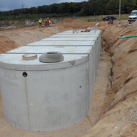 Löschwasserbehälter 300 m³, Schwerin
