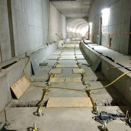 Trogplatten für den Tunnelbau, STUTTGART