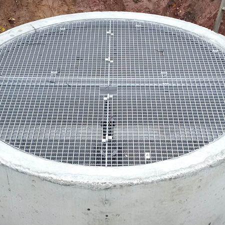 Baugebietserschließung mit Drosselschacht, Weidach