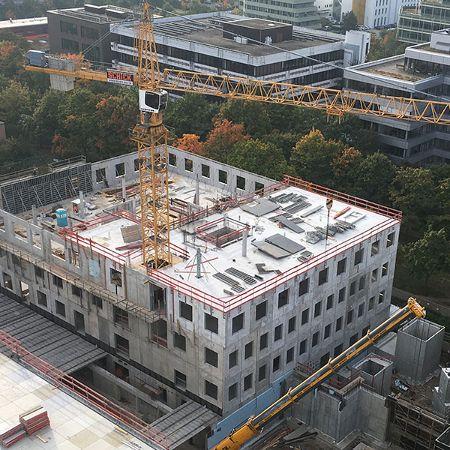 Neubau der St. Vincentius Klinik in Karlsruhe