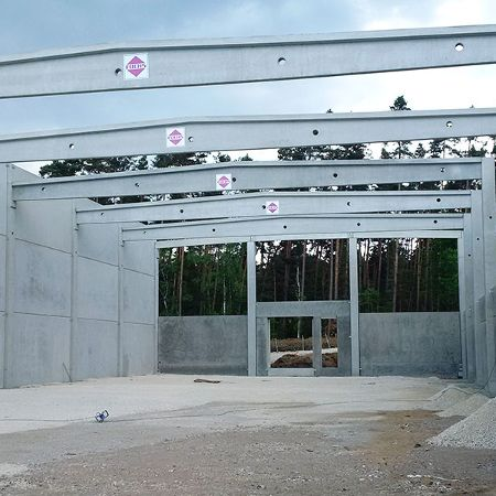 Neubau Produktions- und Lagergebäude, Roth-Barnsdorf