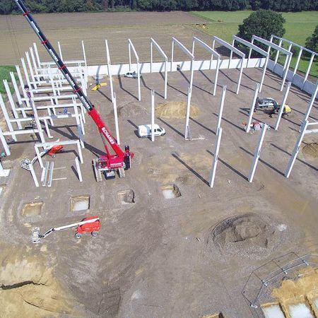 Neubau einer Versandhalle, Voerde