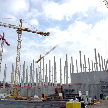Neubau Versandzentrum Bader, Östringen