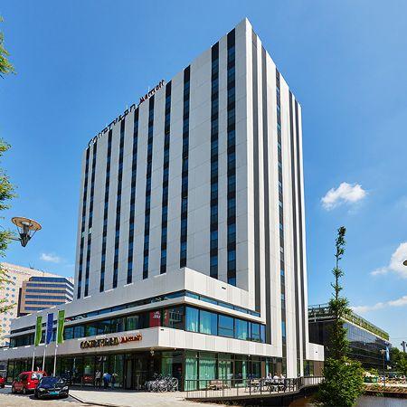 Marriott-Hotel mit Architekturbeton-Fassade, Amsterdam