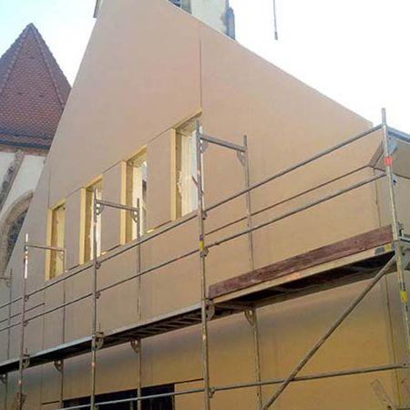 Architekturbeton-Fassade für Gemeindehaus in Nabburg