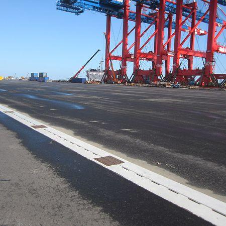 Dichte Rinne für Container-Terminal, Wilhelmshaven